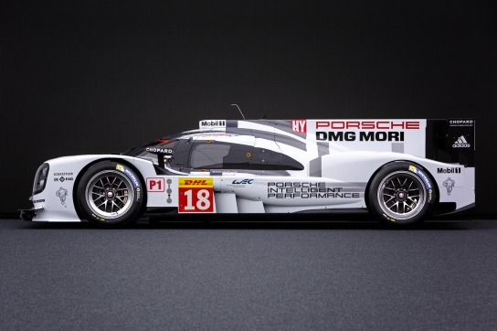 2015 Porsche 919 Hybrid LMP1 Car. Photo Credit: Porsche AG