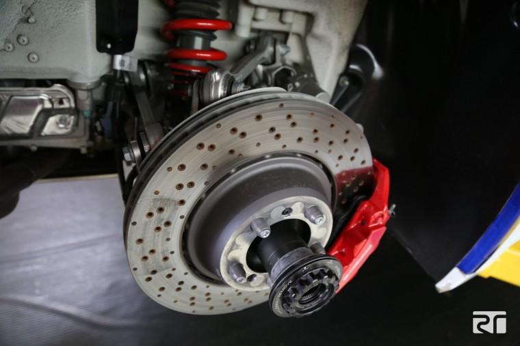 Porsche 991 GT3 rear brakes