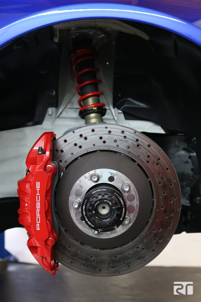 Brembo Brake Pads >> Brembo 2-piece disc, brake fluid, and pad install on GMG Racing's 991 GT3 – Brembo Performance ...