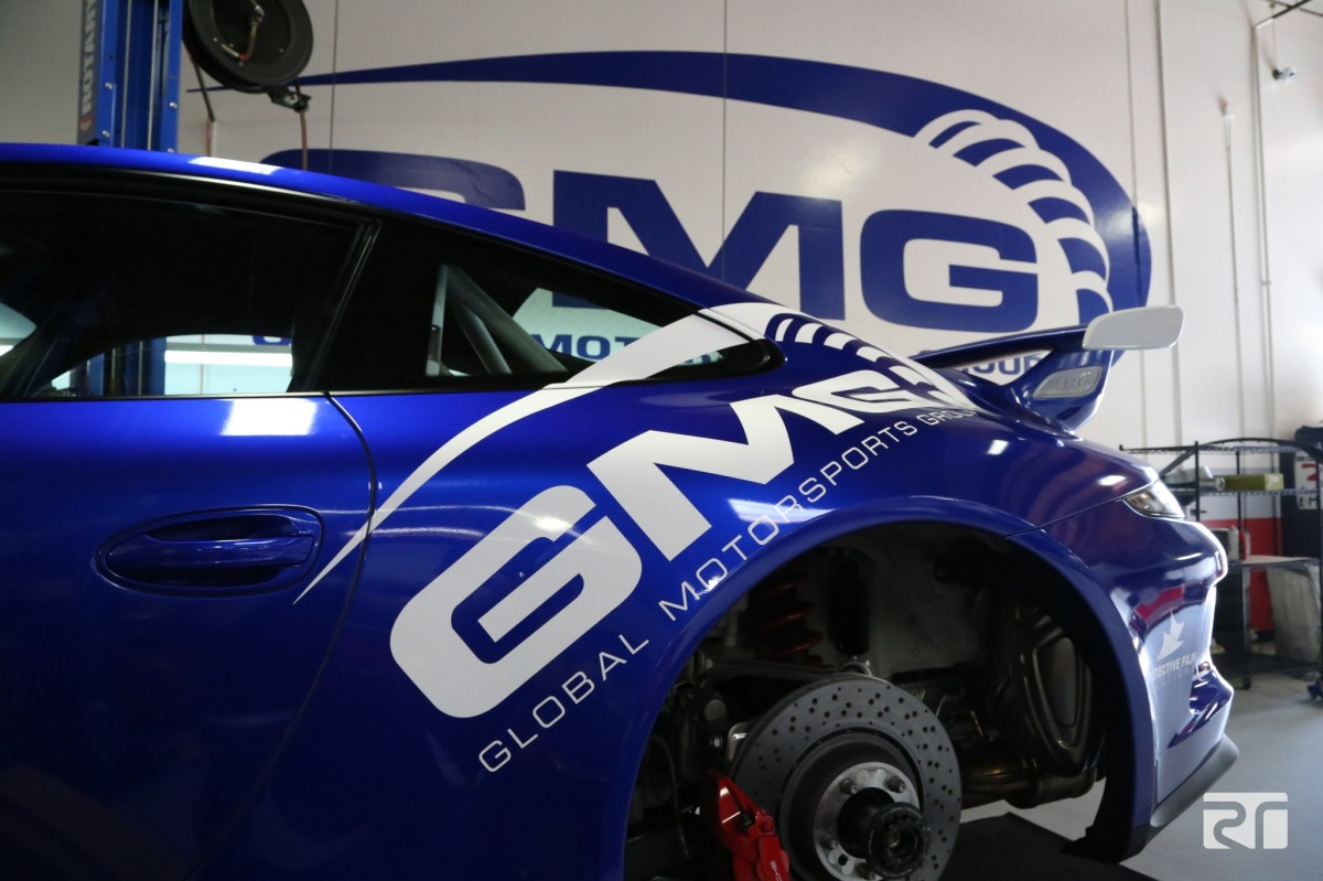 Brembo 2-piece disc, brake fluid, and pad install on GMG Racing's 991 GT3