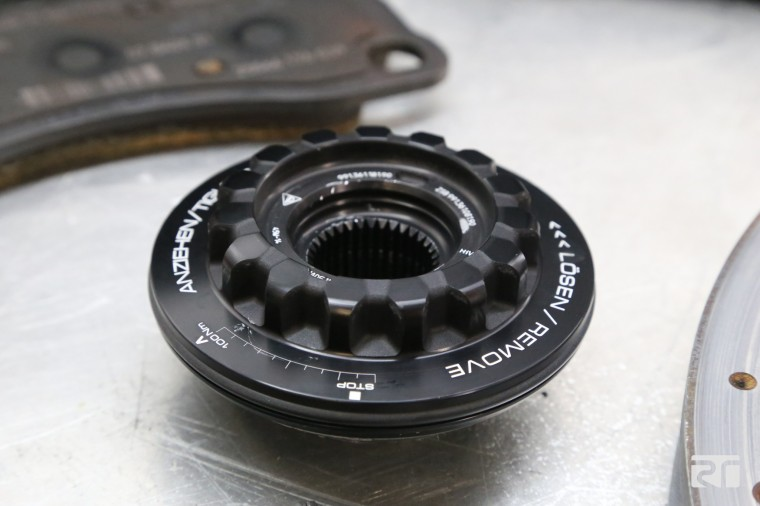 Porsche centerlock unit