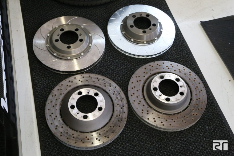 Brembo Porsche OE discs vs Brembo Performance 2-piece disc assemblies