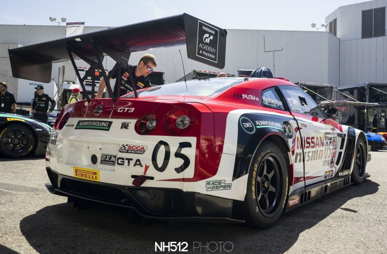 AIM Autosport Nissan Nismo GTR GT3, equipped with Brembo Racing brakes.