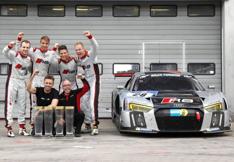 2015 NBR 24 hour winner - Audi R8 LMS by Team WRT. Photo Credit : Audi Sport