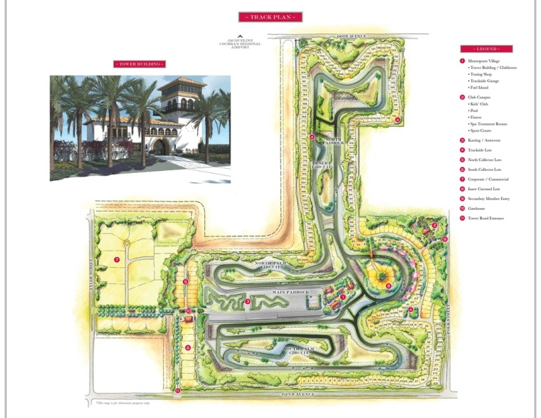 Thermal Club Track layout. Image: Thermal Club