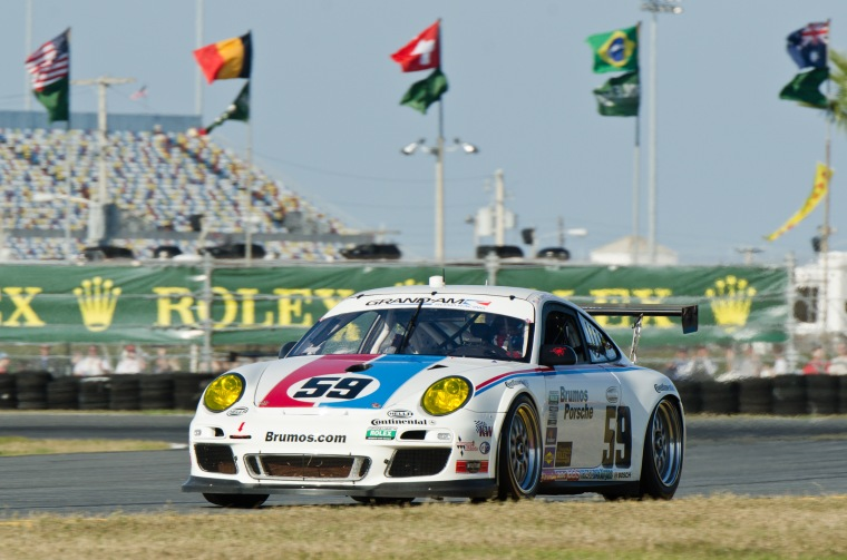 Brumos 997 Grand-Am Cup at Daytona 24 hour. Photo : James Boone