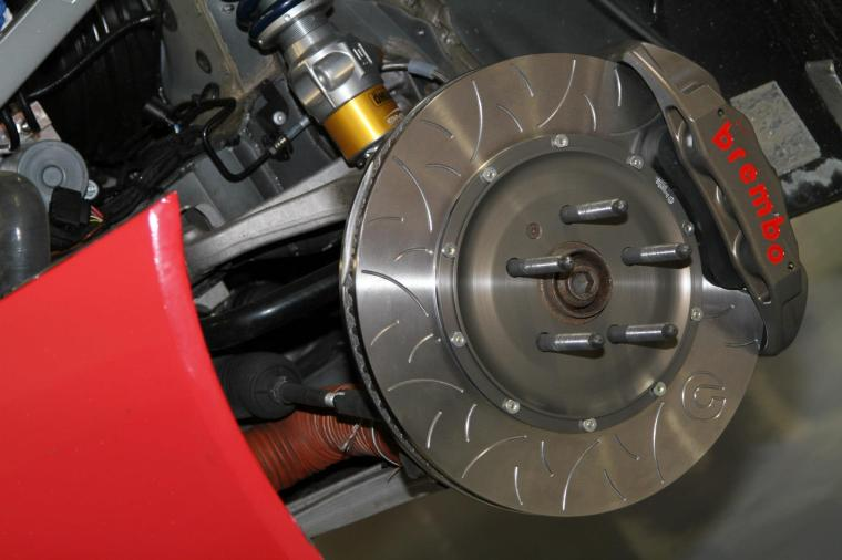Brembo Racing Type III Discs installed on GMG Twin Turbo Audi R8