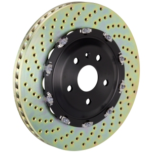 Brembo drilled disc assembly