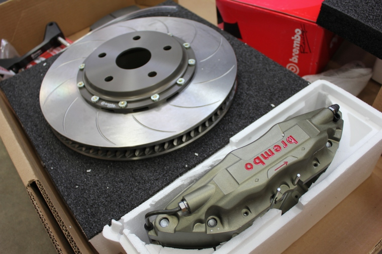 Brembo Race system. Photo: Lachute performance