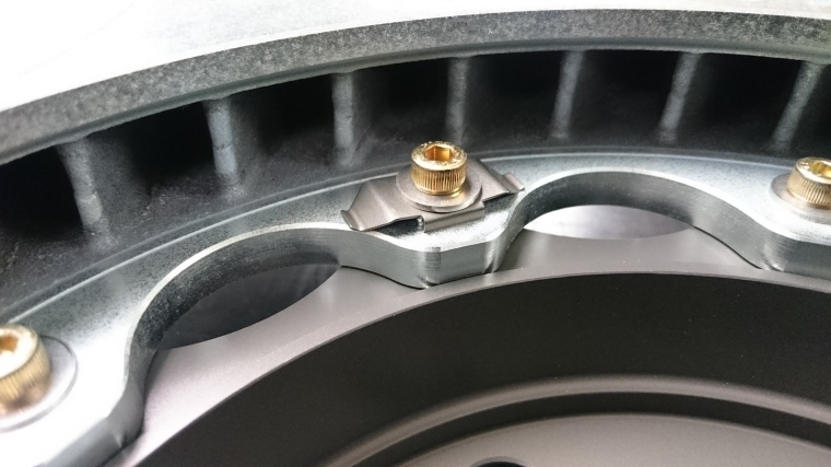 Brembo Anti-Rattle hardware