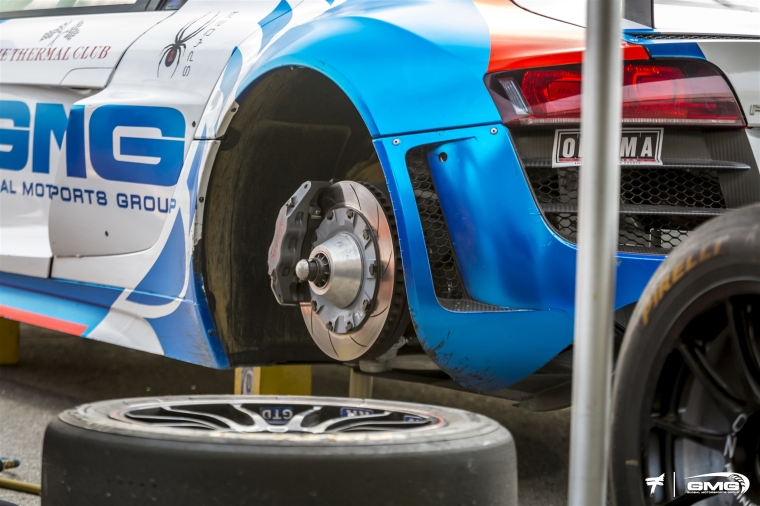 GMG Racing team using Brembo Type V endurance discs. Photo: GMG Racing