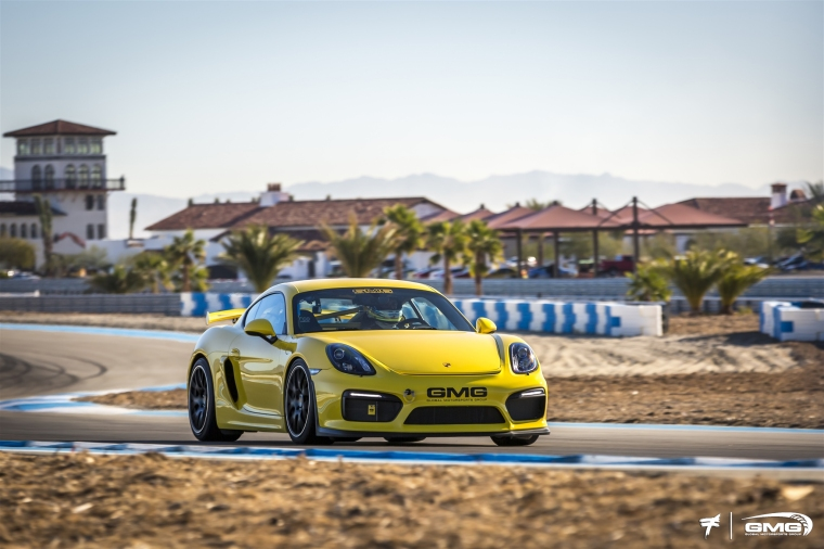 The Cayman GT4 is more sensitive to driver inputs, especially pitch under braking. Photo: GMG Racing